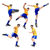 Soccer football player man Royalty Free Stock Photo