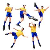 Soccer football player man Royalty Free Stock Image
