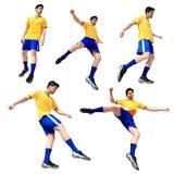 Soccer football player man Royalty Free Stock Image