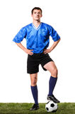 Soccer or football player Stock Photo