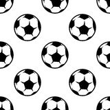 Soccer or football seamless pattern Royalty Free Stock Photo