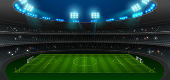Soccer football stadium spotlight