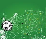 Soccer or football tactics Stock Photography