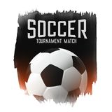 Soccer football tournament match abstract background. Illustration Stock Photos