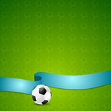 Soccer football vector background Stock Photo