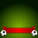 Soccer football vector background Royalty Free Stock Photo