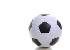 Soccer football on white background Stock Photo