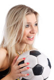 Soccer funs Royalty Free Stock Photos