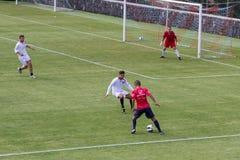 Soccer game Royalty Free Stock Photos