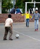 Soccer game Stock Photos