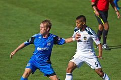 Soccer game Earthquakes vs LA Galaxy Stock Photography