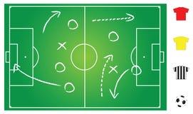 Soccer game play Stock Photos