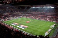 Soccer game stadium stock photography