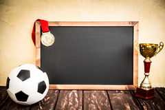 Soccer game strategy Stock Images