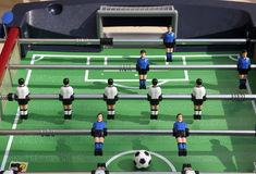 Soccer game table Royalty Free Stock Images