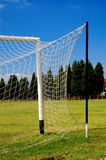 Soccer gate #3. View on soccer gate Royalty Free Stock Photo