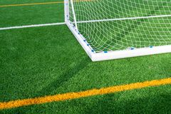New Soccer gate royalty free stock photography