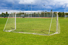 Soccer gate Royalty Free Stock Photos