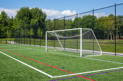Soccer gates Stock Photo