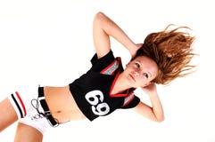 Soccer girl. Stock Images