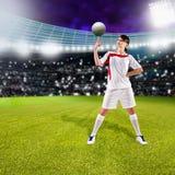 Soccer girl Royalty Free Stock Image