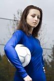 Soccer girl Stock Photos