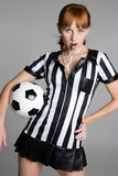 Soccer Girl Royalty Free Stock Images