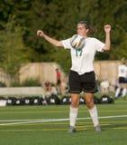 Soccer Girls varsity 4 royalty free stock photo