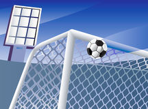 Soccer goal. Stock Photo