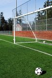 Soccer Goal. A city park soccer goal Royalty Free Stock Image