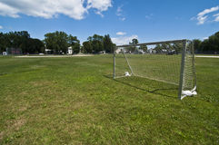 Soccer goal Stock Photos