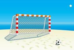 Soccer  goal. Stock Photography