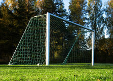 Free Soccer Goal Royalty Free Stock Image - 3360496