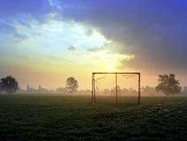 Soccer goal Stock Image