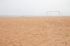 Soccer goal Stock Images