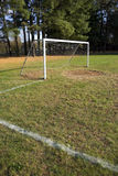 Soccer Goal and Field Royalty Free Stock Images