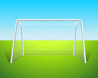 A soccer goal Royalty Free Stock Images