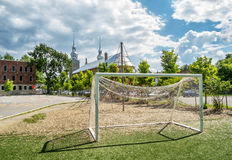 Soccer goal Royalty Free Stock Photos