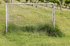 Soccer Goal Stock Photo