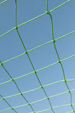 Soccer goal net. For world cup Royalty Free Stock Photography