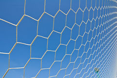 Soccer goal net Royalty Free Stock Photo