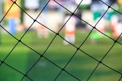Soccer goal net. Close up Soccer goal net Stock Photo