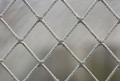 Soccer Goal Net. Close up macro image Royalty Free Stock Photo