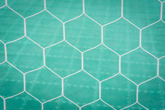 Soccer Goal Net with futsal floor. Background Royalty Free Stock Images
