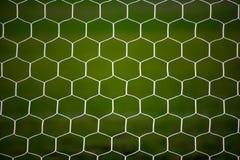Soccer goal net Royalty Free Stock Images