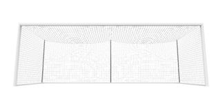 Soccer Goal Post Isolated Royalty Free Stock Photos