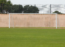 Soccer Goal Posts Stock Image