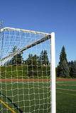 Soccer goal posts Royalty Free Stock Photo