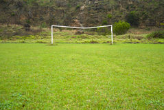 Soccer goal posts Royalty Free Stock Photography