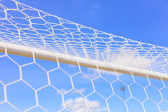 Soccer Goal. Ready for Match Royalty Free Stock Photography